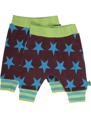 Fred's World - Nordic funky pants med blå kant
