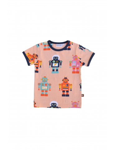 Moromini - Friendly Robot kortærmet t-shirt